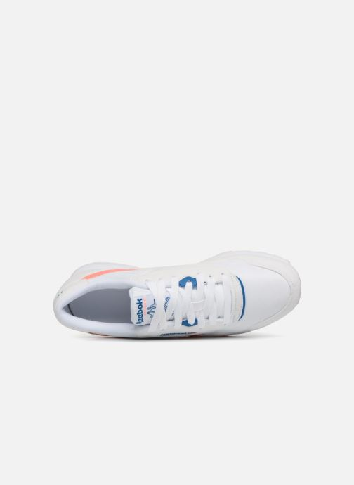 Trainers Reebok CL NYLON M TXT White view from the left