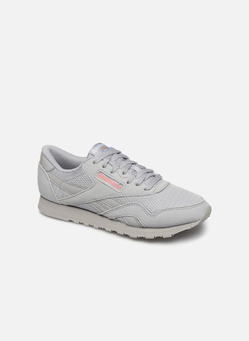 Sneakers Reebok CL NYLON M TXT Grijs detail