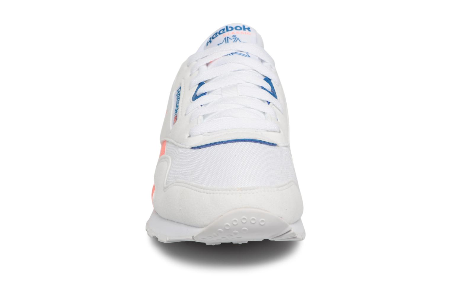 Blue Reebok white Nylon digital Pink Txt Cl M instince Retro 11zwr