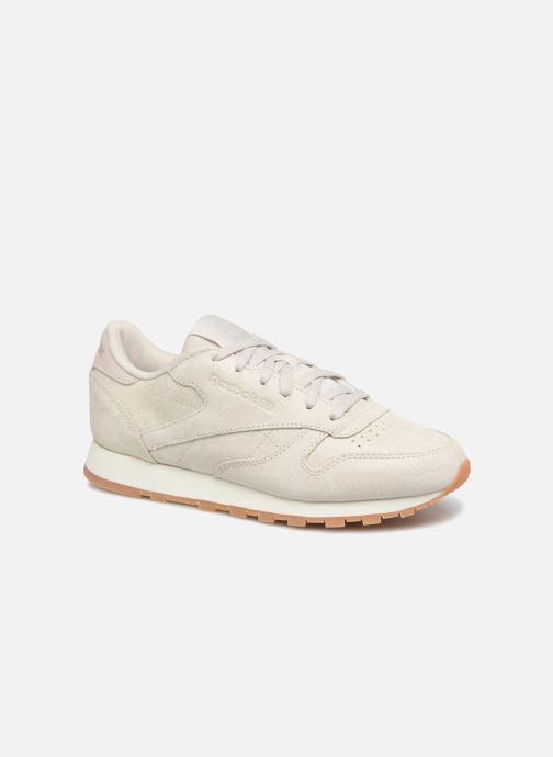 Trainers Reebok CL LTHR Beige detailed view/ Pair view