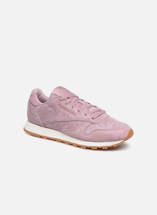Sneakers Reebok CL LTHR Viola vedi dettaglio/paio
