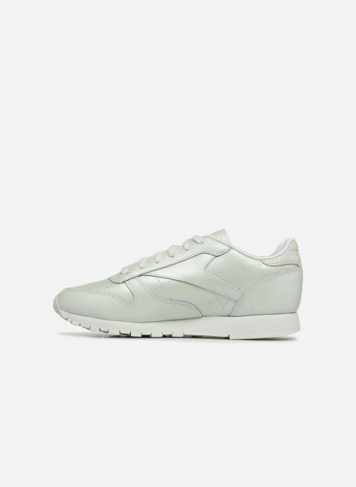Sneaker Reebok CL LTHR weiß ansicht von vorne