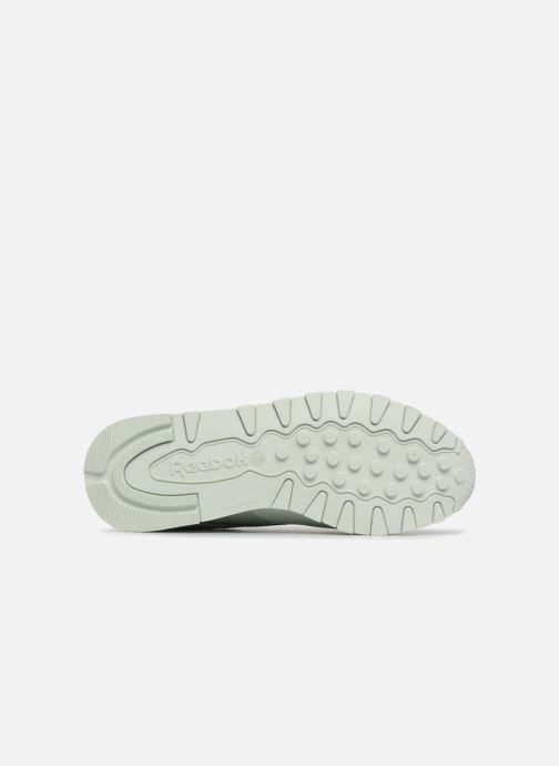 Sneakers Reebok CL LTHR Bianco immagine dall'alto
