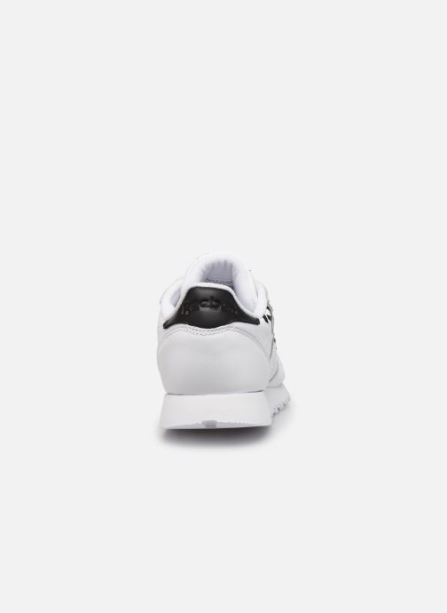Baskets Reebok CL LTHR Blanc vue droite