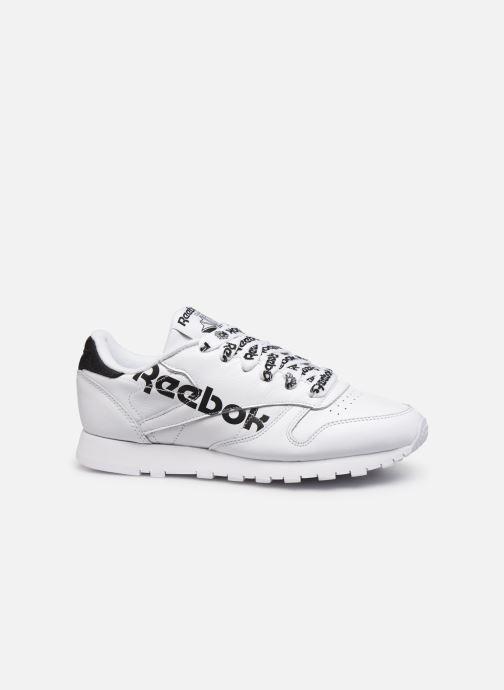 Baskets Reebok CL LTHR Blanc vue derrière