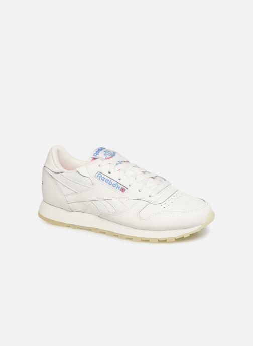 Sneaker Reebok CL LTHR weiß detaillierte ansicht/modell