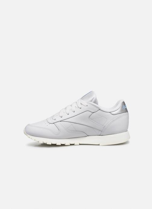 Sneakers Reebok CL LTHR Grigio immagine frontale