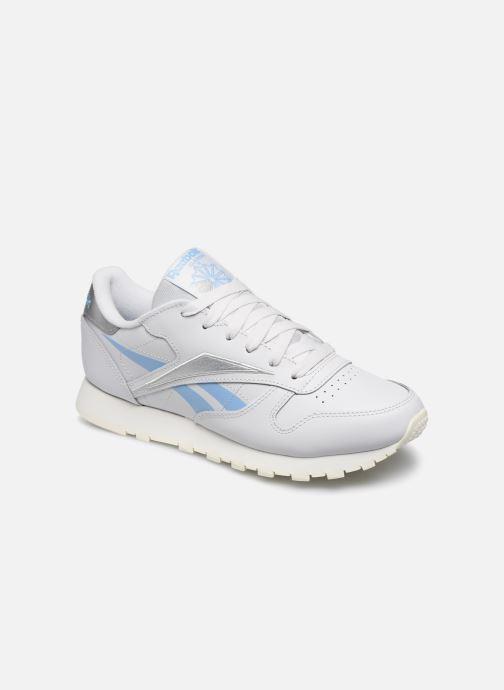 Sneaker Reebok CL LTHR grau detaillierte ansicht/modell