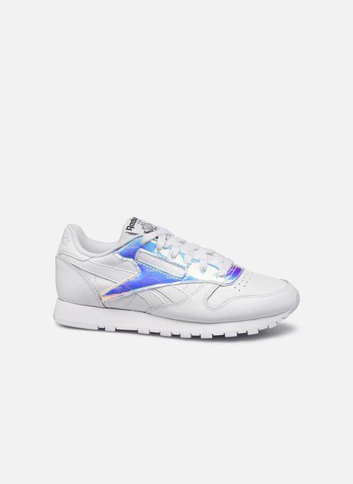 Sneaker Reebok CL LTHR weiß ansicht von hinten