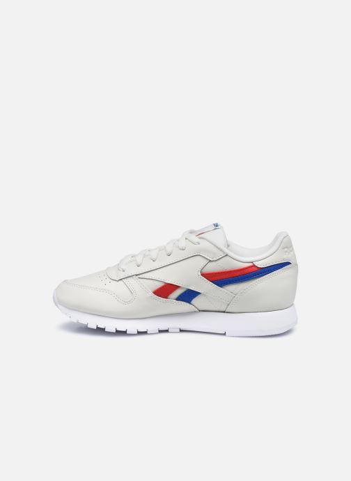 Sneakers Reebok CL LTHR Bianco immagine frontale