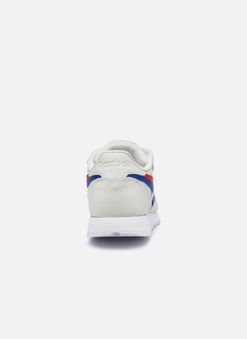 Sneaker Reebok CL LTHR weiß ansicht von rechts