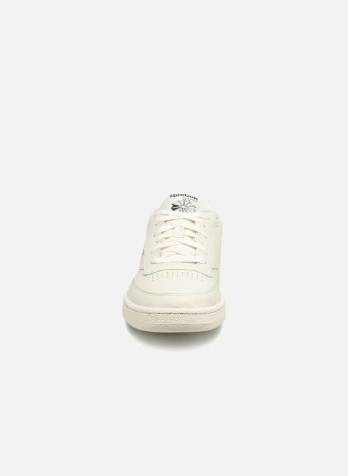 Sneaker Reebok CLUB C 85 MU grau schuhe getragen