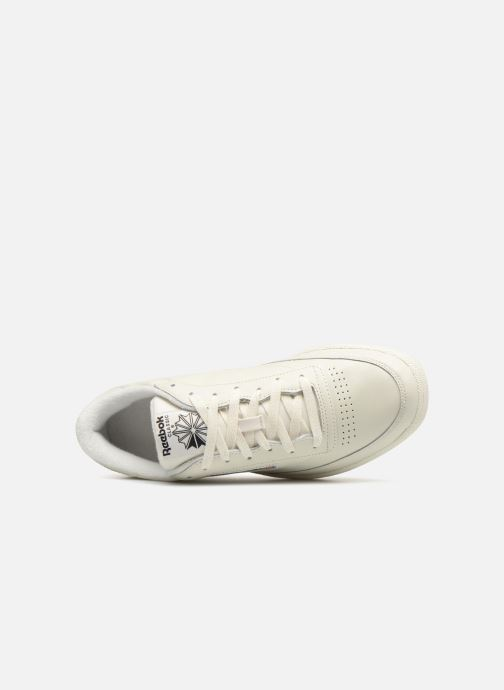Sneaker Reebok CLUB C 85 MU grau ansicht von links