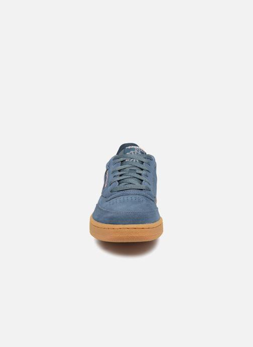 Sneakers Reebok CLUB C 85 MU Azzurro modello indossato