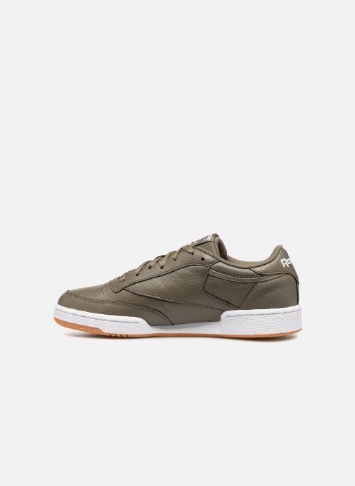Sneakers Reebok CLUB C 85 MU Groen voorkant