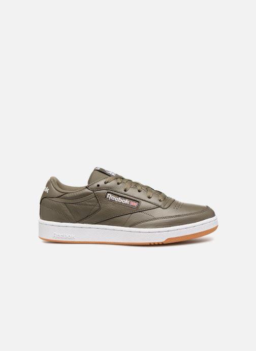 Sneakers Reebok CLUB C 85 MU Groen achterkant