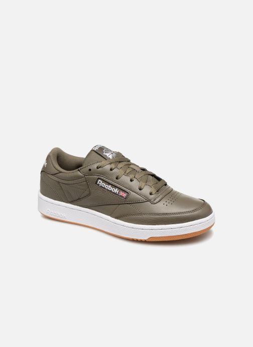 Sneakers Reebok CLUB C 85 MU Groen detail
