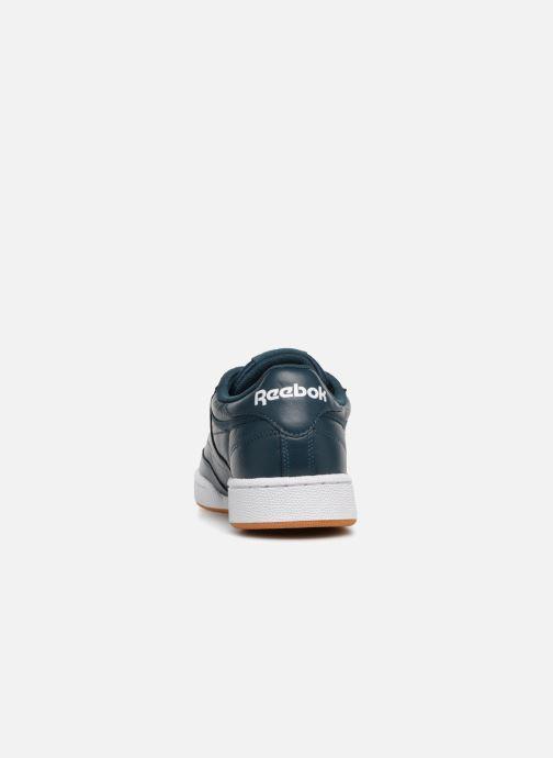 Sneakers Reebok CLUB C 85 MU Azzurro immagine destra