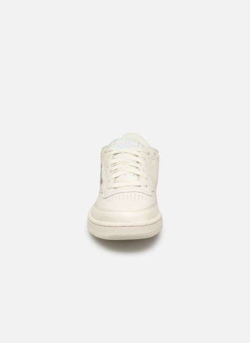 Trainers Reebok CLUB C 85 MU White model view