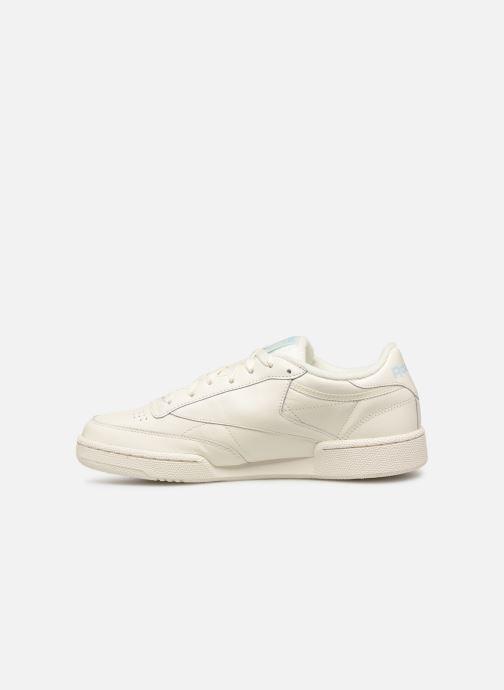 Sneaker Reebok CLUB C 85 MU weiß ansicht von vorne