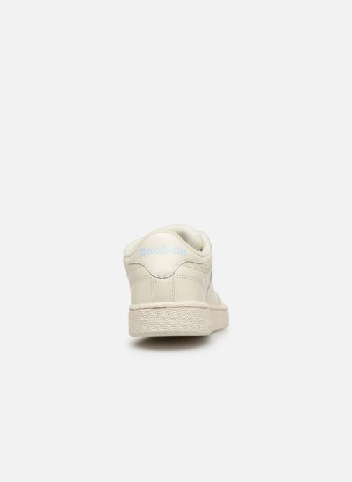 Trainers Reebok CLUB C 85 MU White view from the right