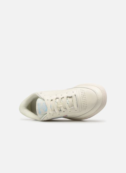 Trainers Reebok CLUB C 85 MU White view from the left