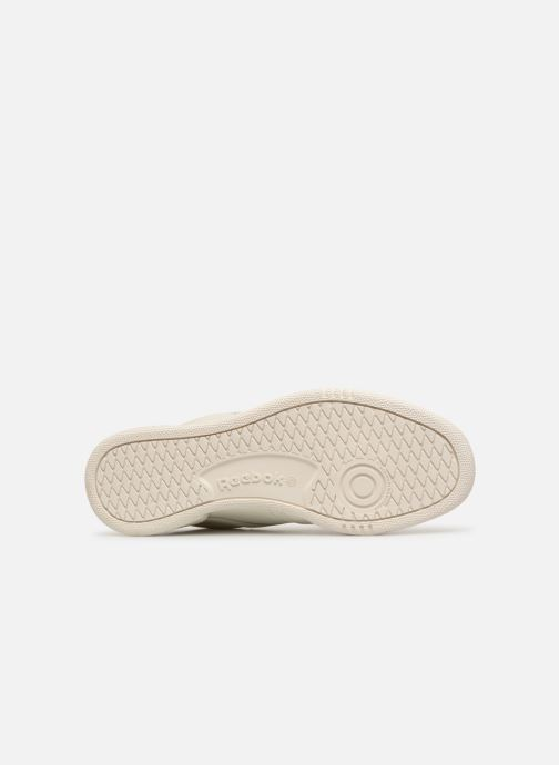 Trainers Reebok CLUB C 85 MU White view from above