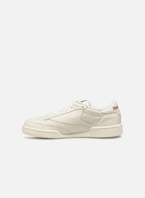 Sneakers Reebok CLUB C 85 MU Wit voorkant