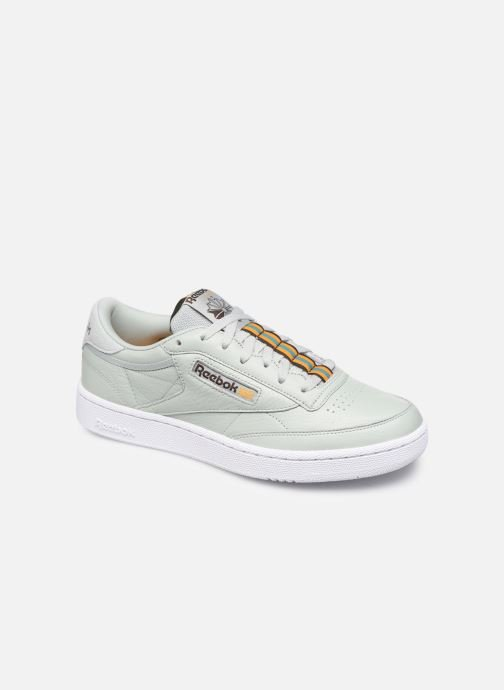 Sneakers Reebok CLUB C 85 MU Grøn detaljeret billede af skoene