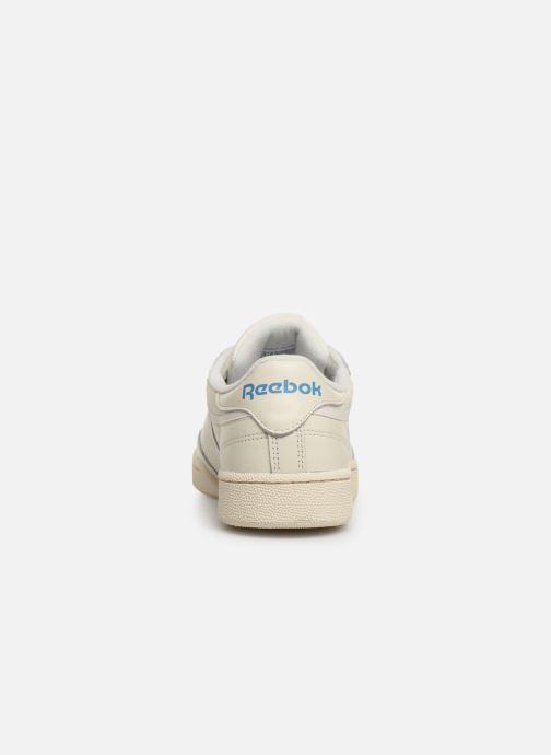 Sneakers Reebok CLUB C 85 MU Bianco immagine destra