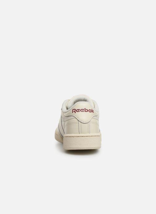 Sneakers Reebok CLUB C 85 MU Wit rechts