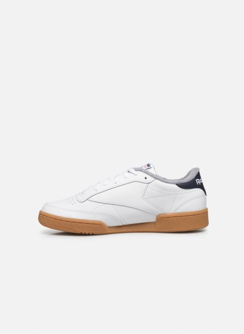 Trainers Reebok CLUB C 85 MU White front view