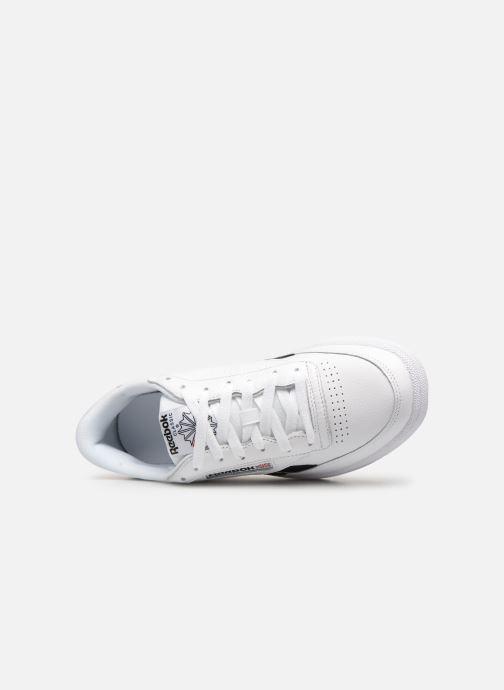 Sneaker Reebok REVENGE PLUS MU weiß ansicht von links