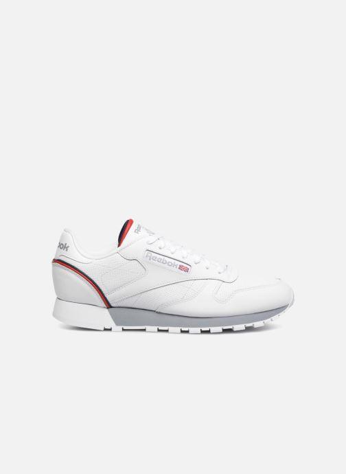 Sneaker Reebok CL LEATHER MU weiß ansicht von hinten