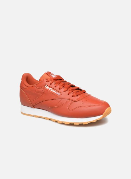 Sneaker Reebok CL LEATHER MU rot detaillierte ansicht/modell