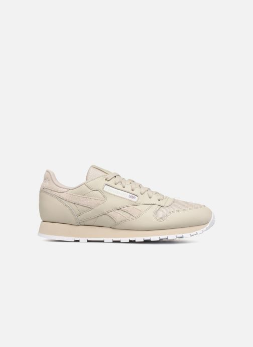 Baskets Reebok CL LEATHER MU Marron vue derrière