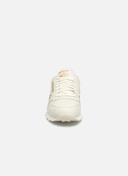 Trainers Reebok CL LEATHER MU White model view