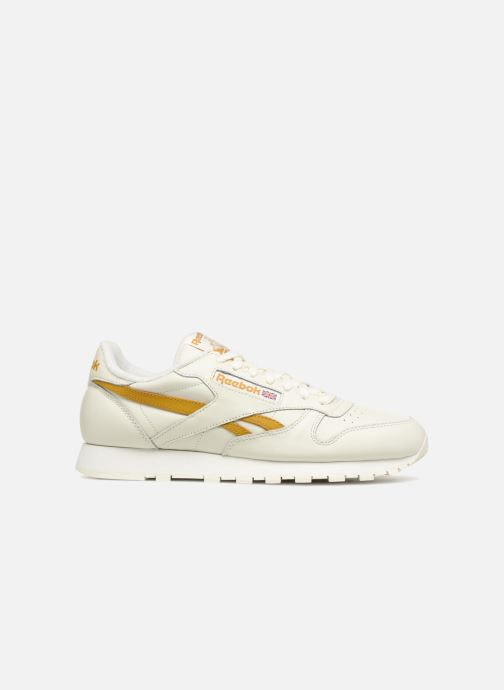 Trainers Reebok CL LEATHER MU White back view