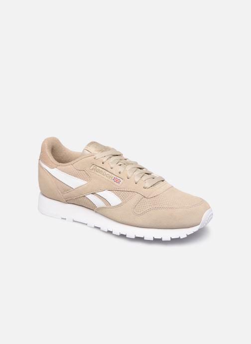 Sneakers Reebok CL LEATHER MU Beige detail