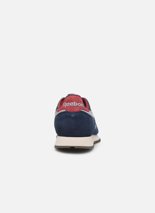 Sneakers Reebok CL LEATHER MU Blauw rechts