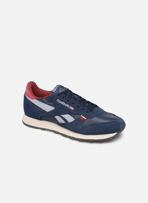 Sneakers Reebok CL LEATHER MU Blauw detail