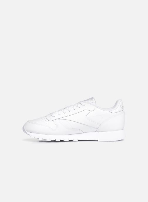 Sneakers Reebok CL LEATHER MU Wit voorkant