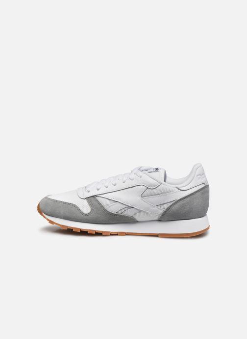 Sneakers Reebok CL LEATHER MU Hvid se forfra