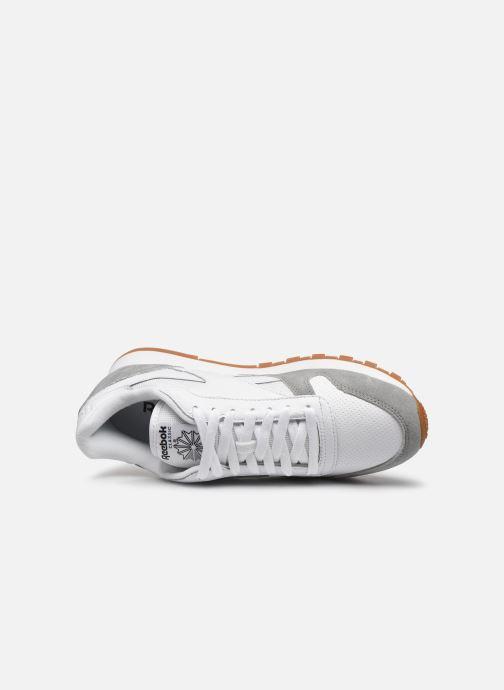 Sneakers Reebok CL LEATHER MU Hvid se fra venstre