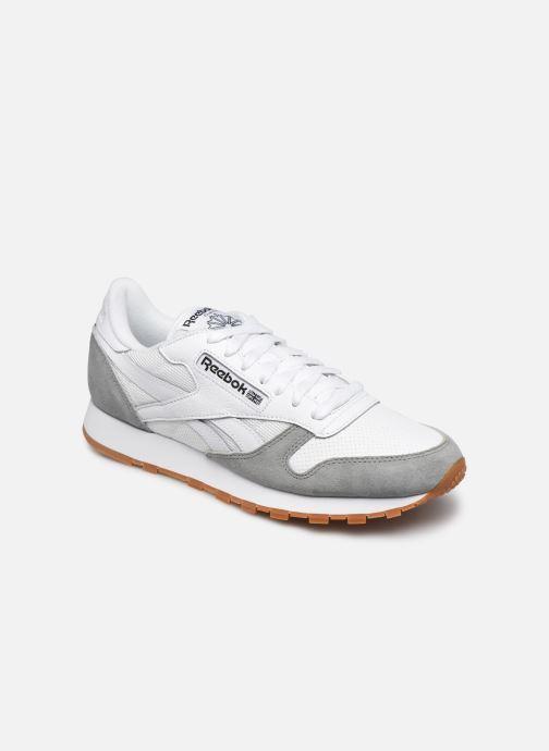 Sneakers Reebok CL LEATHER MU Hvid detaljeret billede af skoene