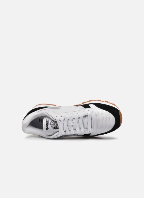 Sneakers Reebok CL LEATHER MU Bianco immagine sinistra