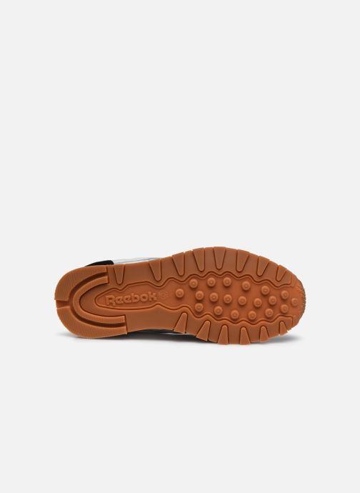 Sneaker Reebok CL LEATHER MU weiß ansicht von oben