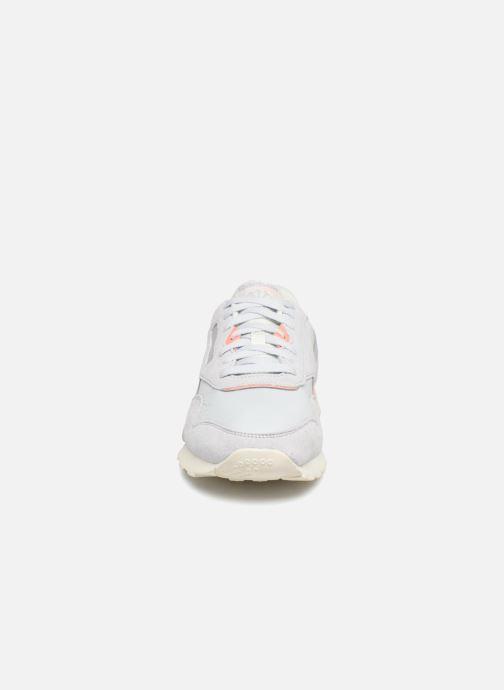 Baskets Reebok CL NYLON M Gris vue portées chaussures