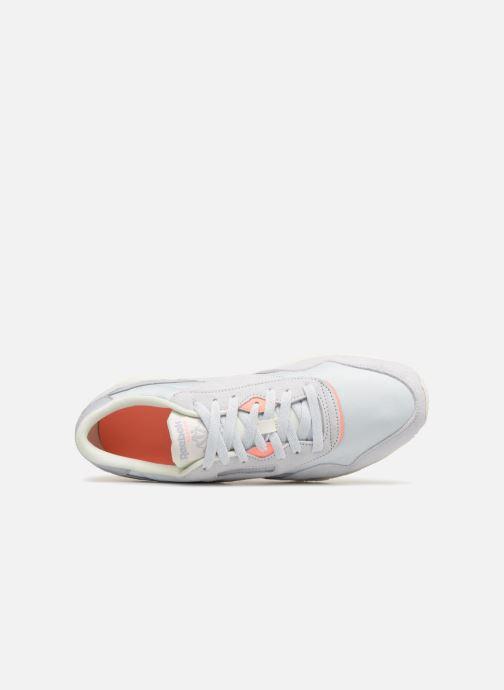Sneakers Reebok CL NYLON M Grigio immagine sinistra