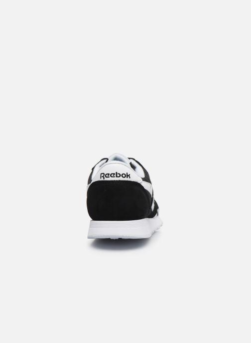 Sneaker Reebok CL NYLON M schwarz ansicht von rechts
